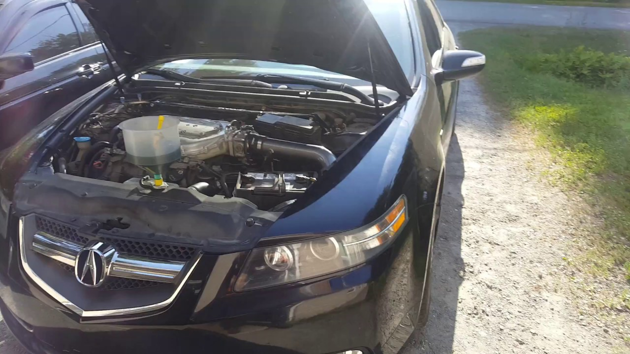 Acura TL type S 2008 MT6 RV6 PCD and J-pipe long version + catback ATLP