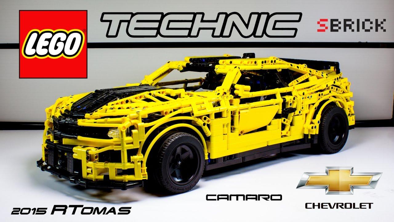 Moc Lego Technic Transformer Chevrolet Camaro 2015 With