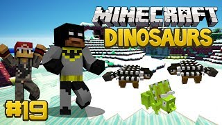 Minecraft Dinosaurs Mod (Fossils and Archaeology) Series, Episode 19 - The Best Enclosure Ever!