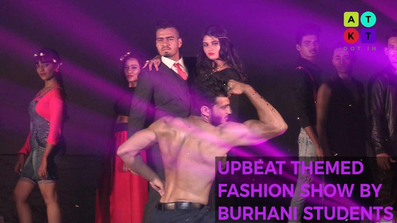 upbeat themed fashion show by burhani college students kiran 2017