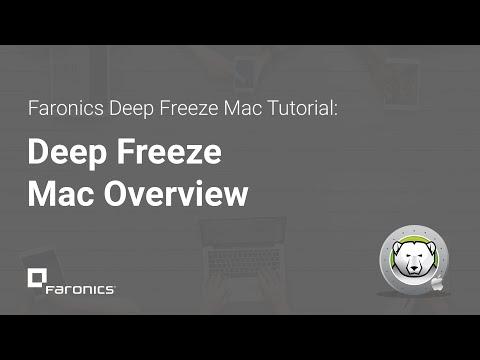 Deep Freeze Mac Tutorials: Deep Freeze Mac Overview - YouTube