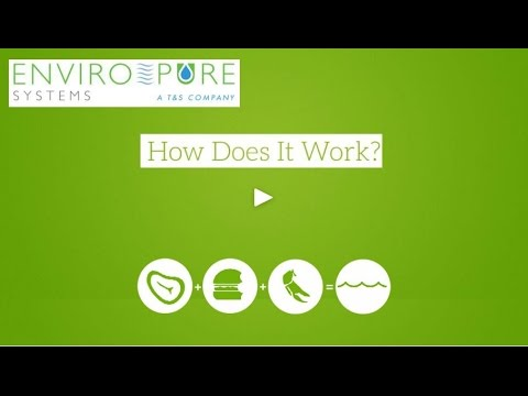 EnviroPure Food Waste Diposal Systems — How It Works