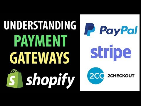 Understanding Shopify Payment Gateways | PayPal, Stripe, 2Checkout