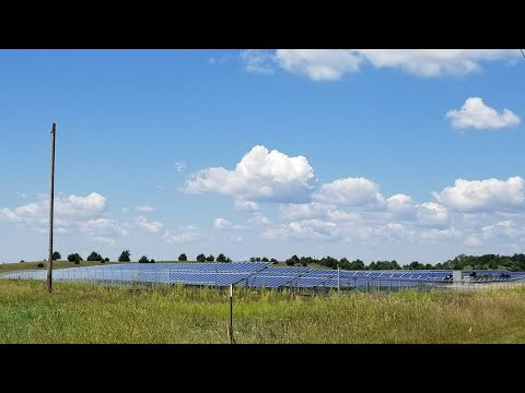 SOLAR POWER PLANTS THE NEXT BIG THING | One Megawatt (MW) Solar Array HWY 61 South Hastings MN