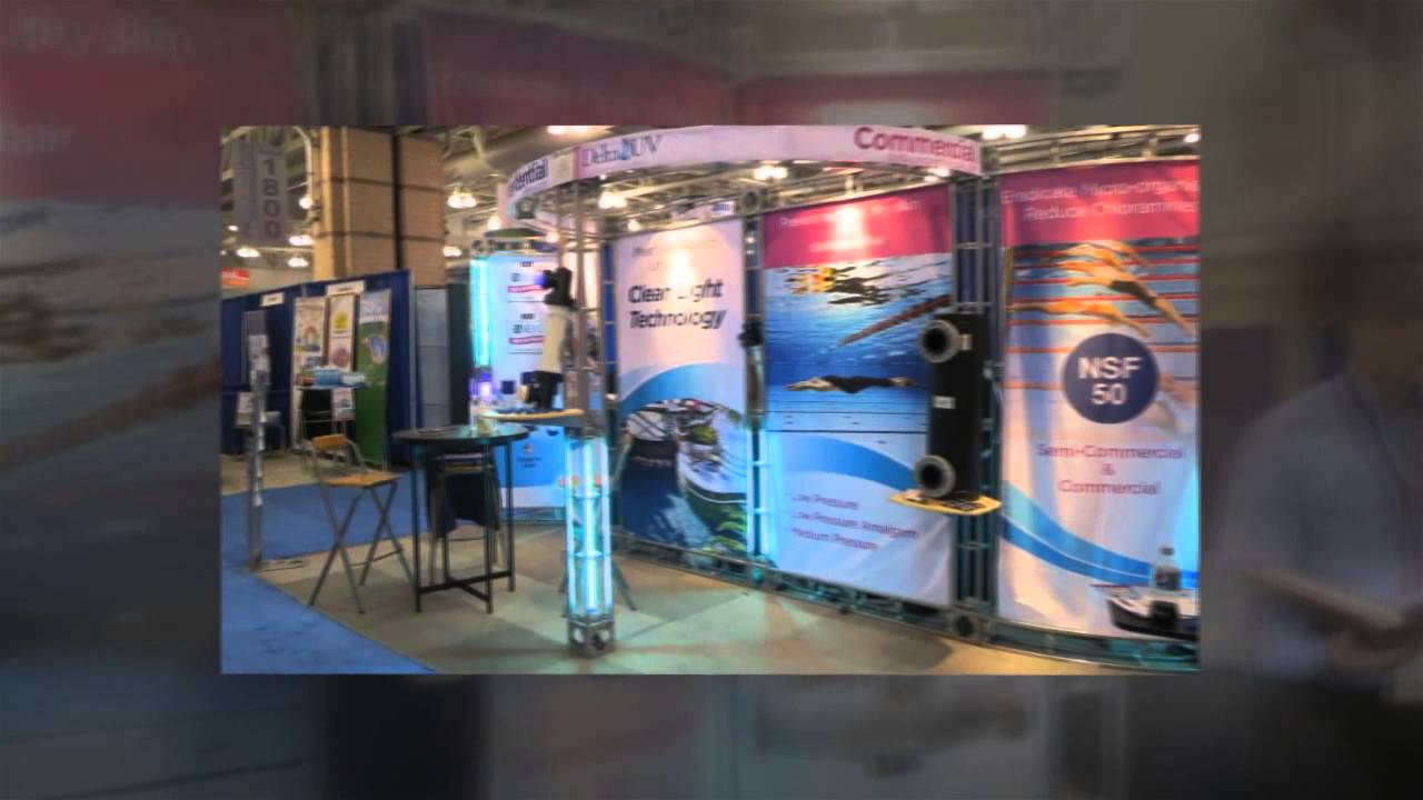 Delta uv at the atlantic city pool and spa show 2015 youtube for Pool spa show vegas 2015