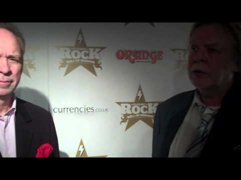 Phil Manzanera & Rick Wakeman | Interview | Classic Rock Awards 2012 | Music News