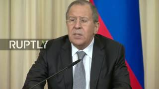 LIVE  Lavrov to hold press conference alongside Congolese counterpart