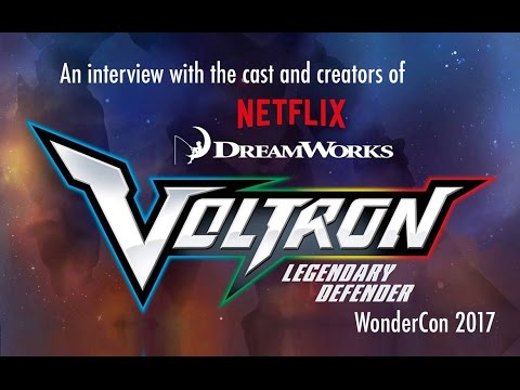 Interview with Voltron: Legendary Defender cast and creators, WonderCon 2017
