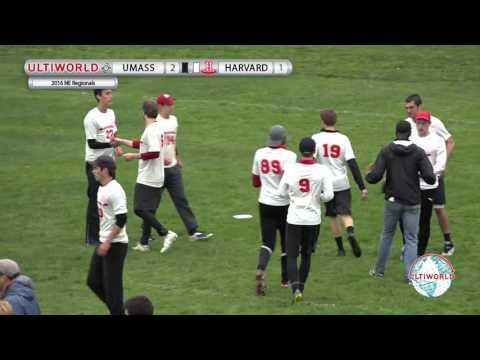 2016 NE Regionals 1st Place Game - UMass vs Harvard