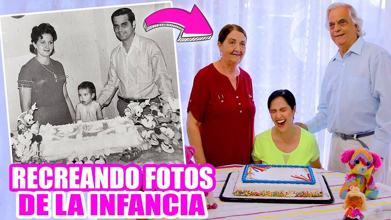 Imitando Fotos de mi Infancia! Algunas Comidas por Cucarachas y LLega la Policía 😅 SandraCiresArt