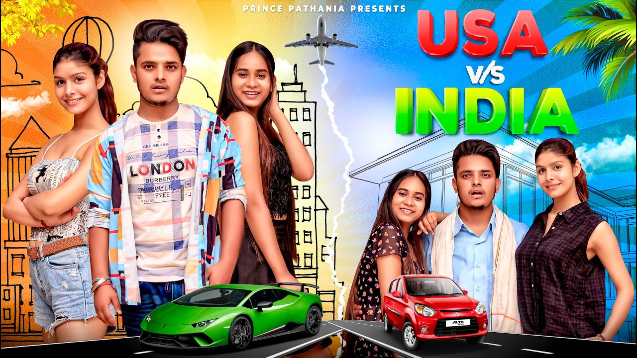 USA VS INDIA | Desi Comedy Video | Aashish Bhardwaj | Prince Pathania
