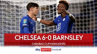 Havertz hits hat-trick as Blues punish Barnsley | Chelsea 6-0 Barnsley | Carabao Cup Highlights