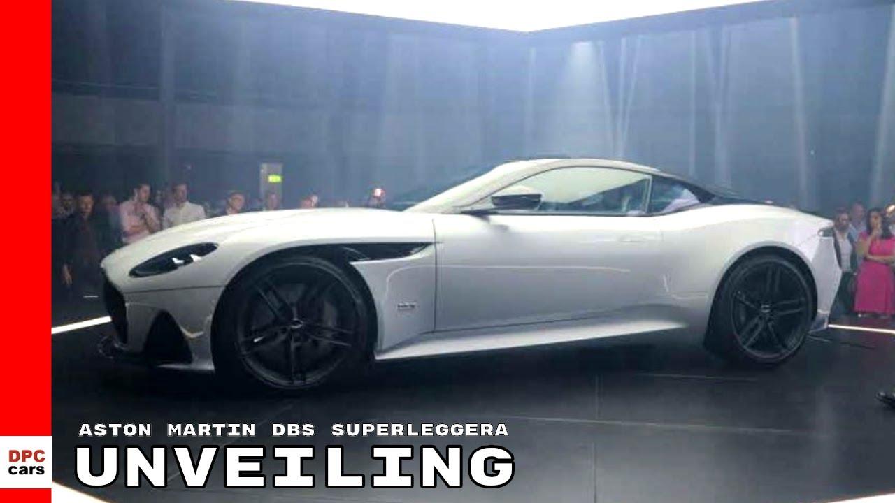 2019 Aston Martin Dbs Superleggera Unveiling Youtube