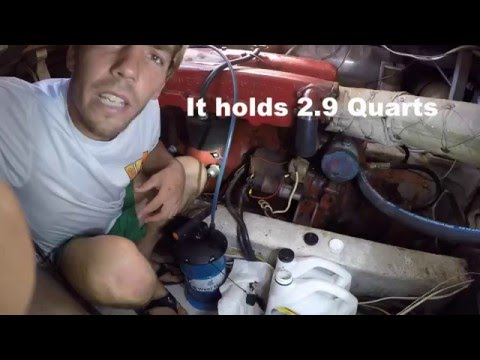 West Marine Manual Oil and Fluid Extractor Review