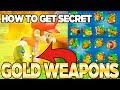 How to get SECRET GOLD Weapons in Mario + Rabbids Kingdom Battle   Austin John Plays
