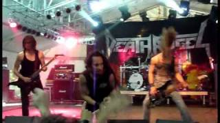 Death Angel - Falling Asleep 2cam mix! (Metalfest Hungary 2010.05.23.)