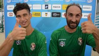 intervista doppia a D'Onofrio e Pisapia del Romagna Beach Soccer