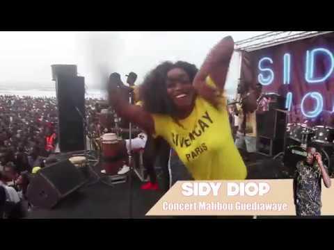 PARTIE 1: Le concert de SIDY DIOP à la plage de Malibu à Guediawaye
