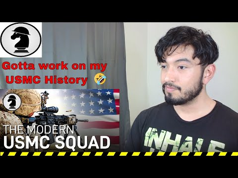 Marine Reacts to USMC Rifle Squad Evolution (By Battle Order)