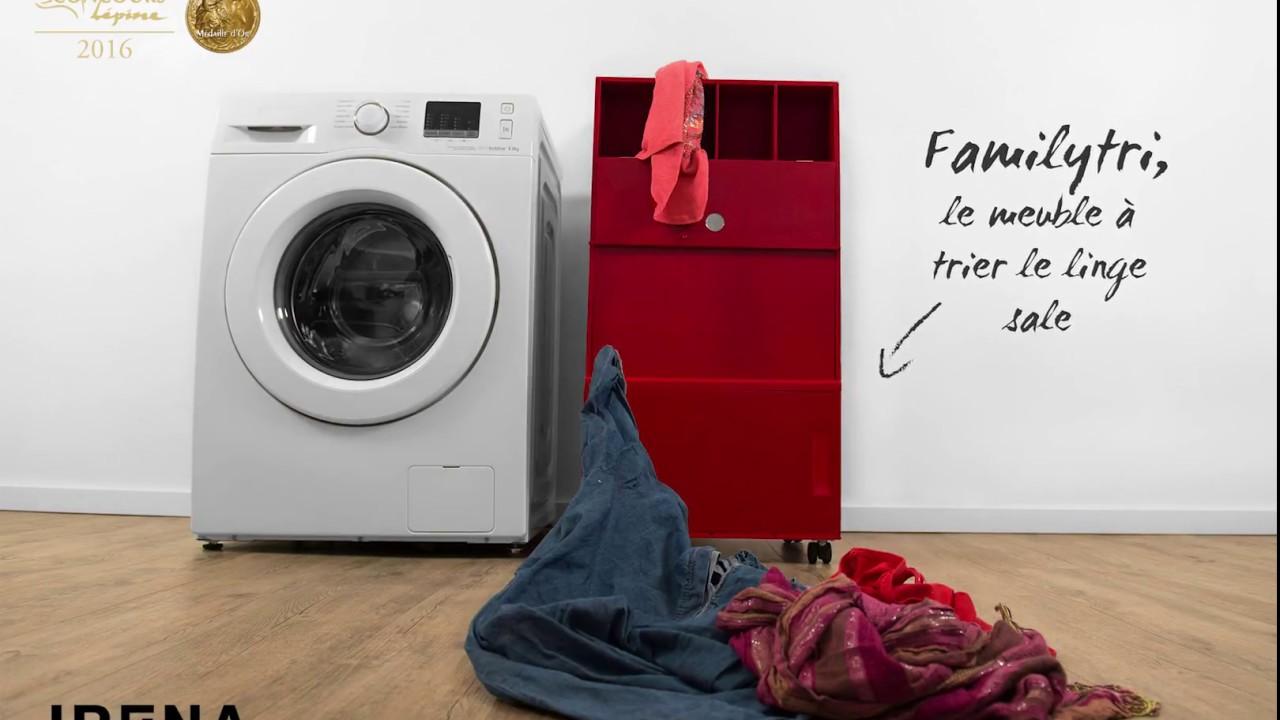 familytri le 1er meuble trier le linge sale intelligent. Black Bedroom Furniture Sets. Home Design Ideas