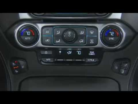 2015 Chevrolet Suburban & Tahoe How To Turn On Heated ...