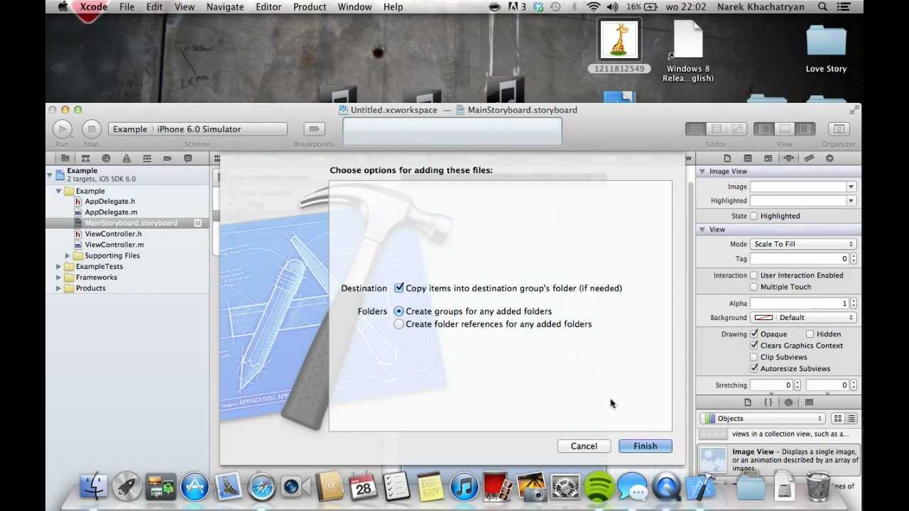 Drawing Lines Xcode : How to use xcode first steps youtube