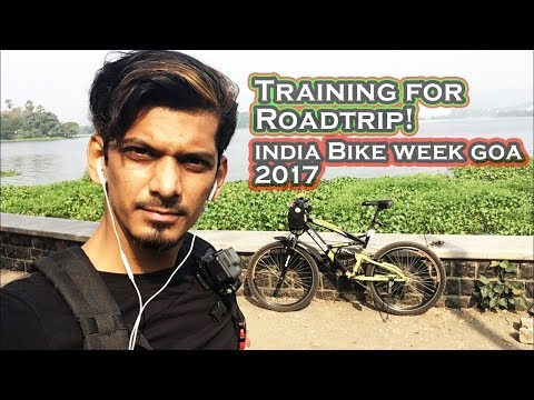 Training for India Bike Week 2017 How to do Long Distance ride