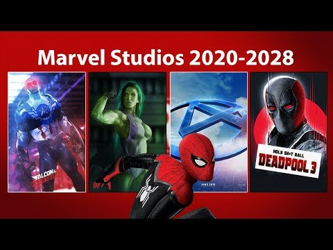 Every Marvel Studios MCU Film in Development From 2020 to 2028