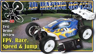 ZD RACING 08425 BUGGY 1/8 MUST HAVE !!! Review Test Démo et FPV ONEPAA X2000 et VTX FXT !