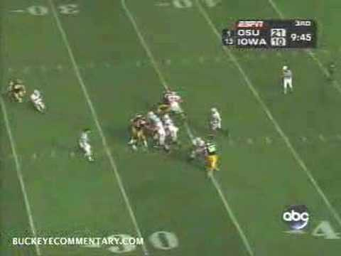 Anthony Gonzalez Play of the Week vs Iowa