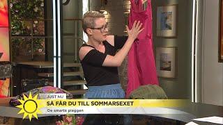 """Sexologens bästa tips för spännande sex: """"På sommaren finns massa möjligheter"""" - Nyhetsmorgon (TV4)"""