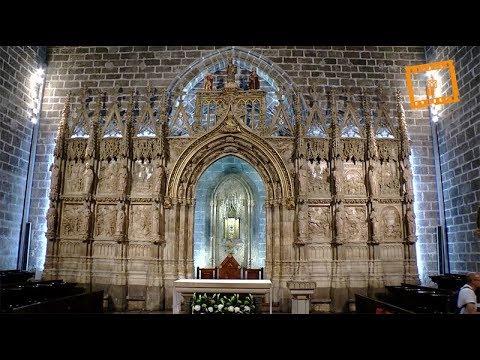 Inauguración nueva iluminación del Santo Cáliz en la Catedral de Valencia