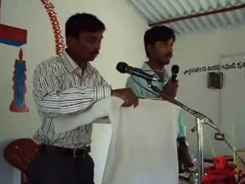 pastor krupa  preaching in lakkavarapu kota