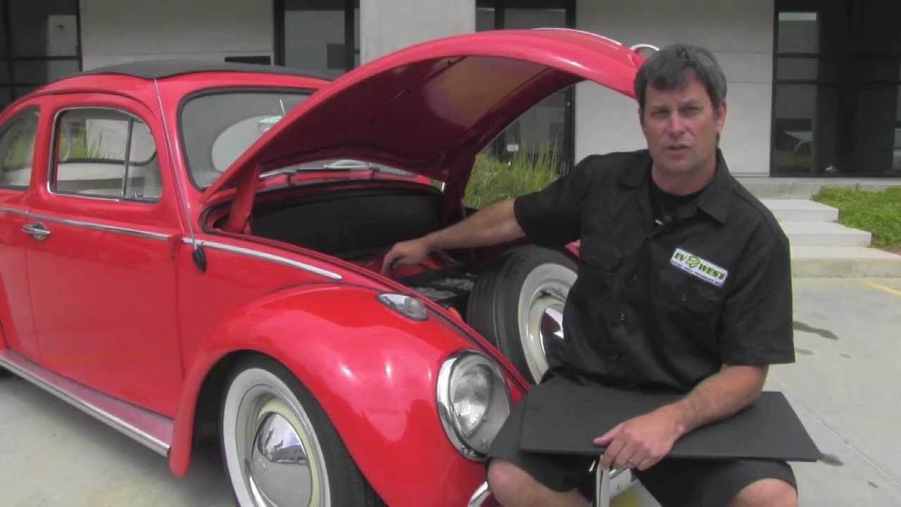 Ev West 1963 Vw Beetle Electric Car Conversion Clic Volkswagen Diy Bug Kit Walkthrough You