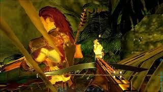 ARK Survival Evolve | Ragnarok Lava Golem  Boss Run
