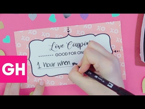 These Love Coupons Make the Best Gifts | GH