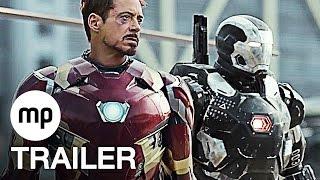 CAPTAIN AMERICA 3: CIVIL WAR Trailer German Deutsch (2016) The First Avenger 3