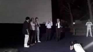 "lee ryan inteview & real love live on Era Glaciale 3"" (Ice Age 3 )  Lipari (Italy) 1/07/2009"