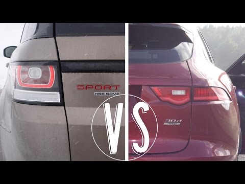 RANGE ROVER SPORT SDV6 vs JAGUAR F-PACE...