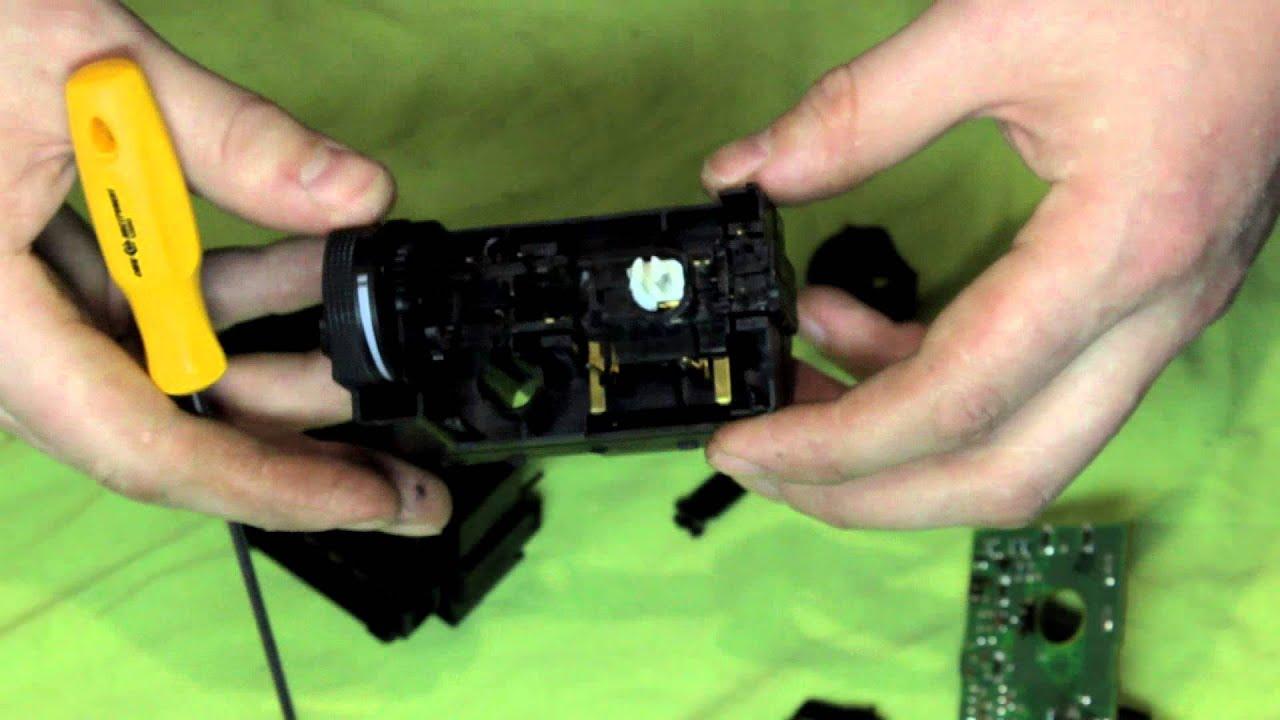 переключатель света фар от дэу ланоса на волгу 3110
