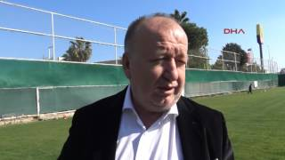 Antalyaspor Başkanı Gültekin Gencer 39 den stadyum isyanı