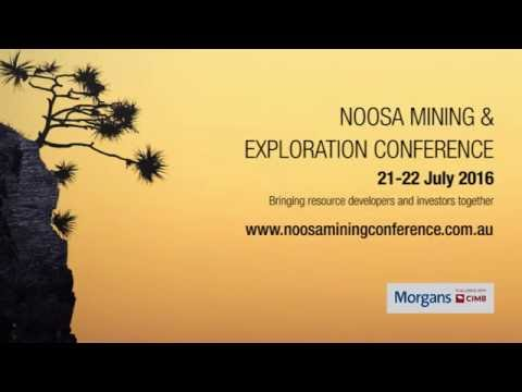Noosa Mining and Exploration Conference 2016