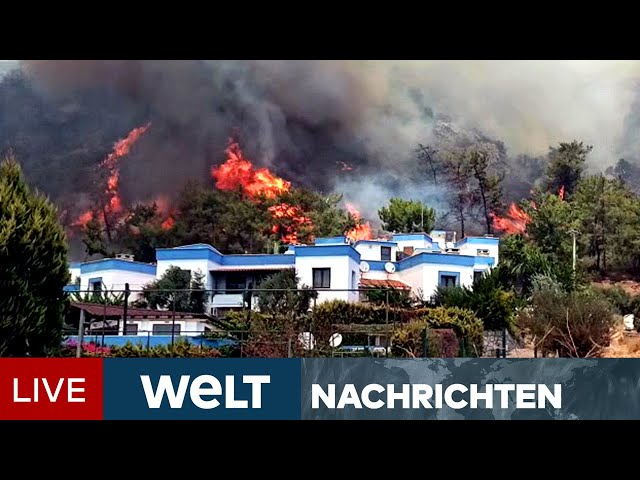 BRANDHÖLLE TÜRKEI: Rekordhitze facht Feuer in Bodrum immer wieder an | WELT Newsstream