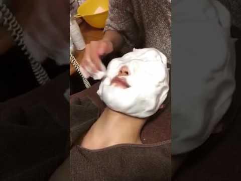 クレイ泡パック洗顔