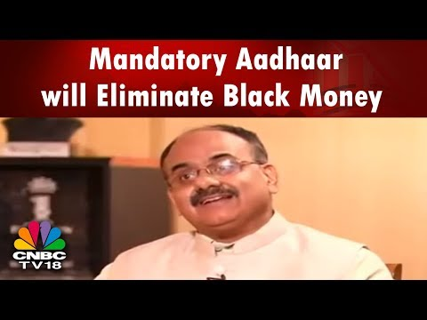 Mandatory Aadhaar will Eliminate Black Money: UIDAI CEO Ajay Bhushan Pandey | Reporter's Diary