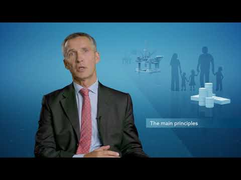 Jens Stoltenberg on the Government Pension Fund Global