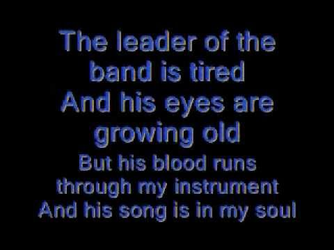 Dan Fogelberg- Leader of the band lyrics