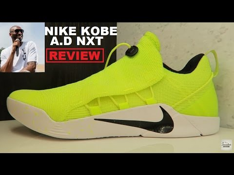 86d59e34fb98 Nike Kobe A.D. NXT Volt Sneaker Review - YouTube