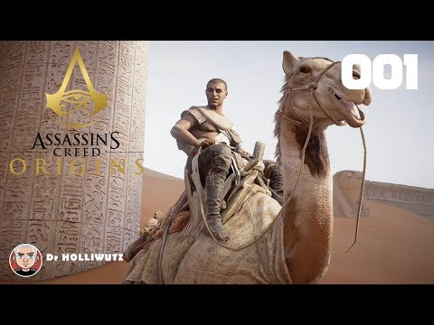 Assassin's Creed Origins #001 - Bayek in Siwa [PS4] | Let's play Assassin's Creed Origins