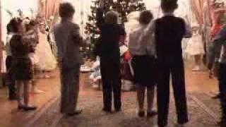 танец новогодних огоньков